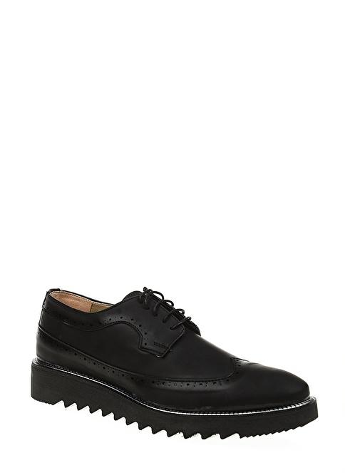 Derigo Oxford Ayakkabı Siyah